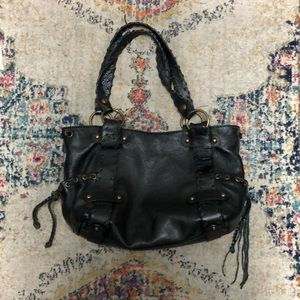Kooba Black Leather shoulder bag, great condition